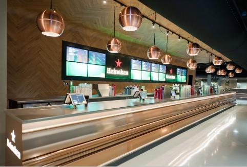 Geautomatiseerde bar bij de Ziggo Dome