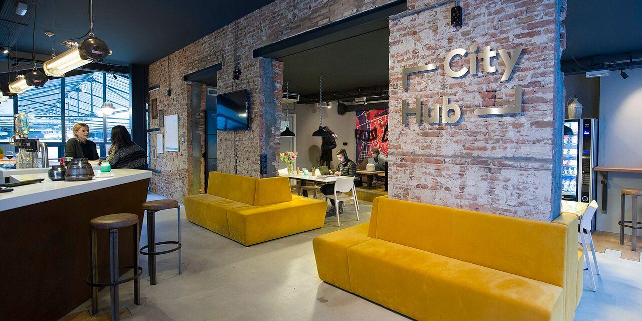 CityHub geautomatiseerde bar