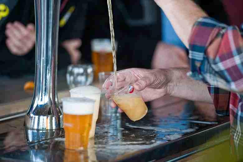 bierverspilling door onrevaren personeel