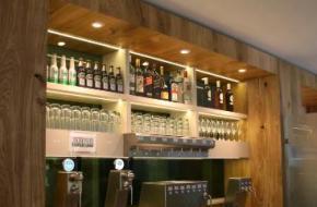 Zelf bier tappen bij Star Lodge