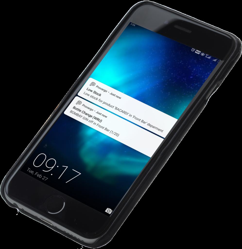 Non drip gedistileerd app alarms