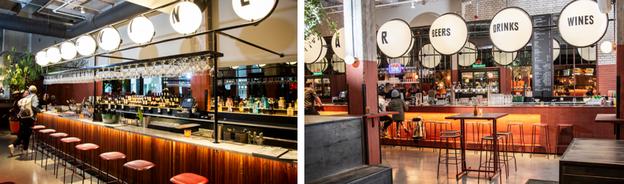 Bar Foodhallen Rotterdam door Van Duijnen