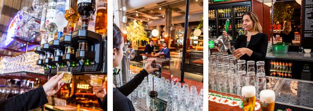 geautomatiseerde bar Foodhallen Rotterdam