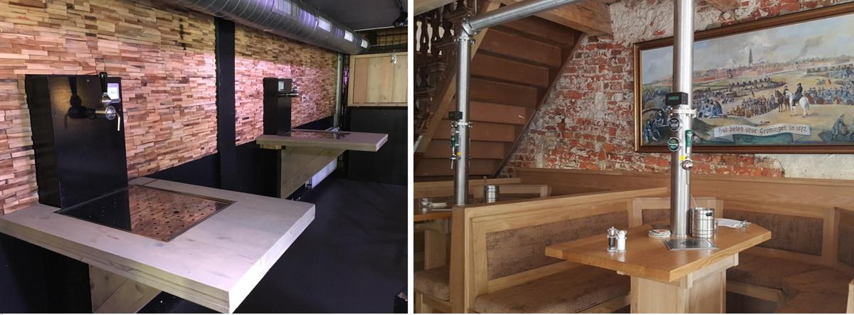 Zelftaps bij Café Bar 't Lempke in Eindhoven en Taveerne Rabenhaupt in Groningen