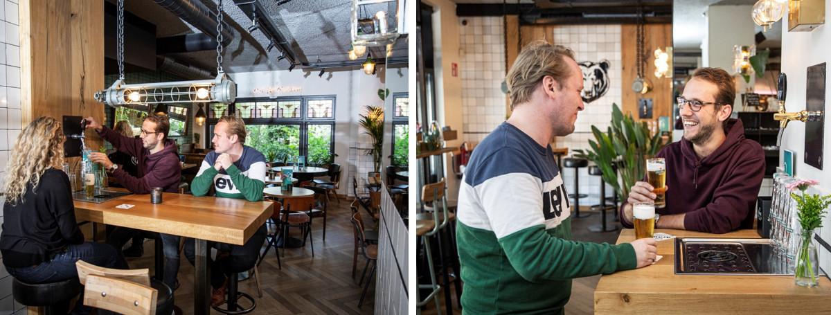 Zelftap taptafels bij Oslo Beers in Amsterdam