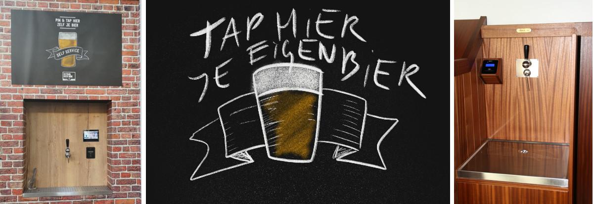 Tap zelf je bier en betaal contactloos via pinpas of smartphone