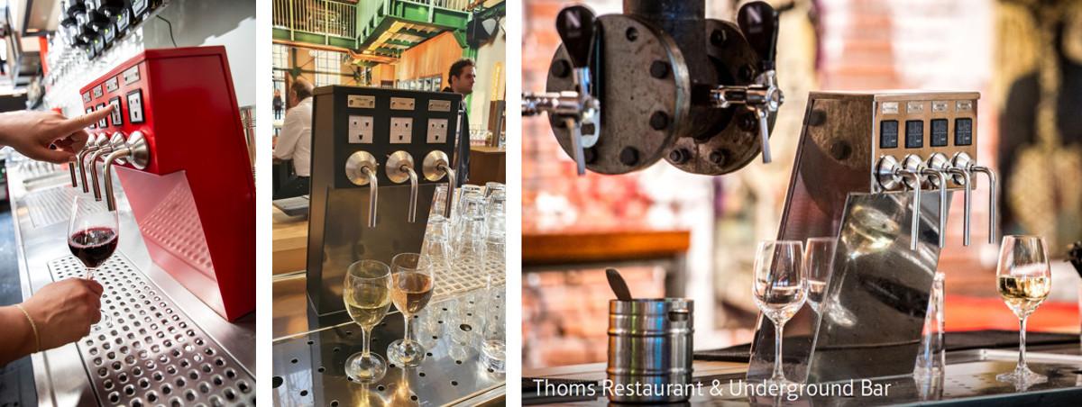 wijntap bij Thoms