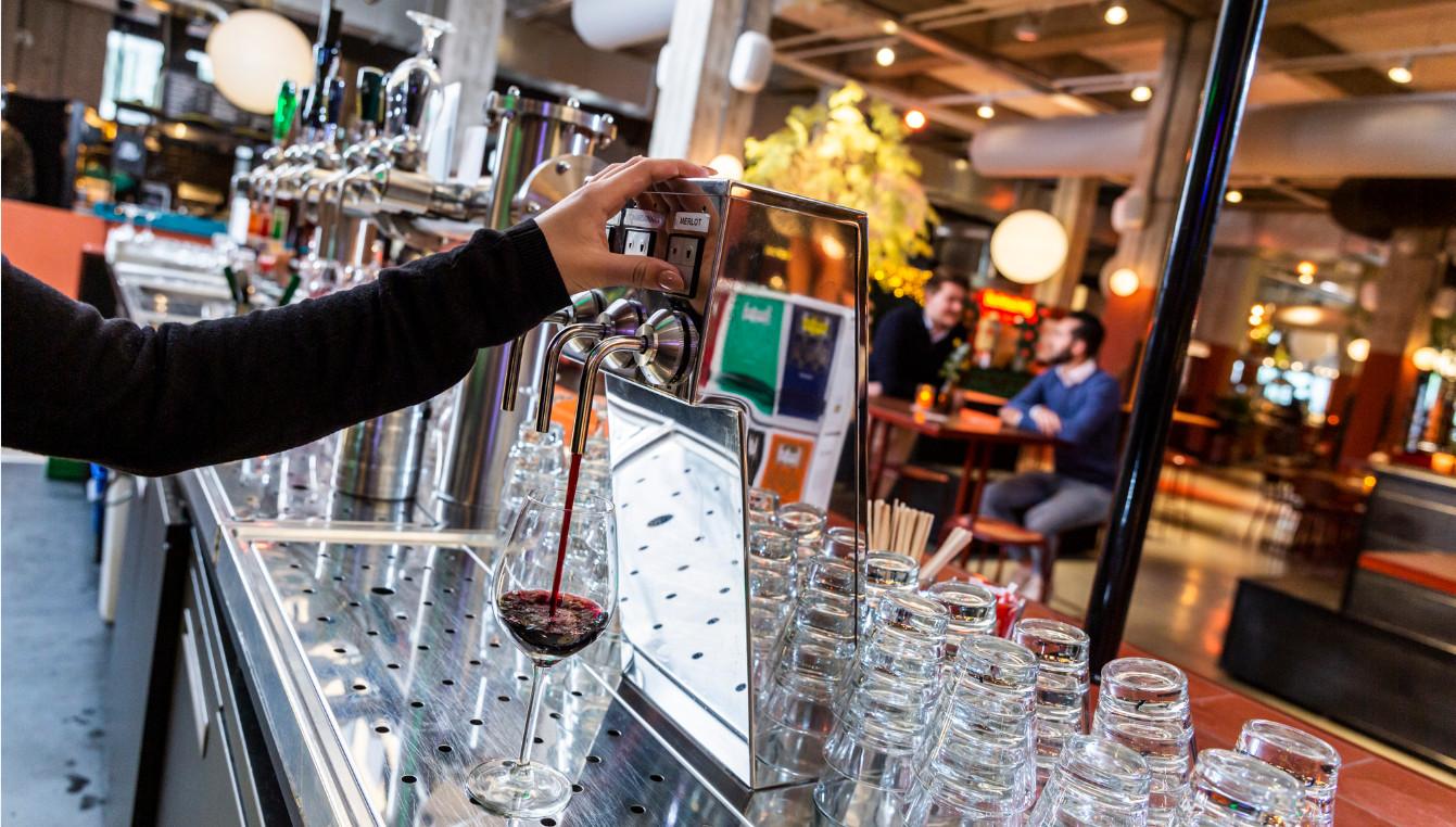 Wijntap Foodhallen Rotterdam