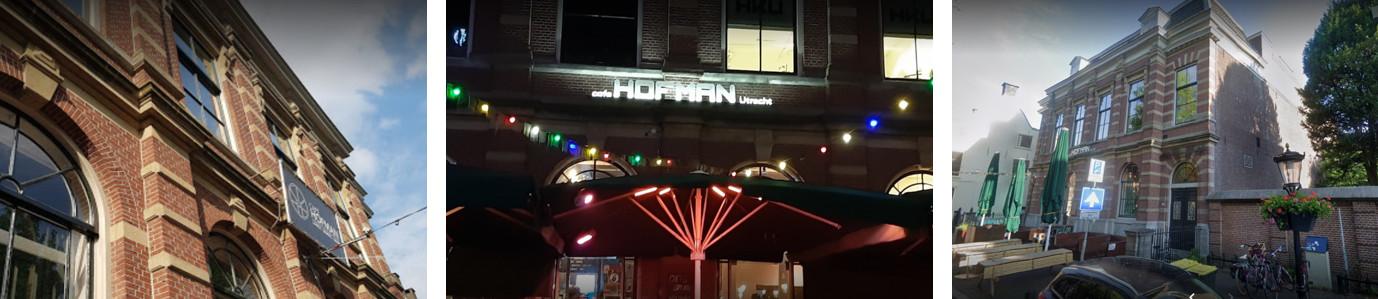 Aanzicht buiten en gevel Hofman