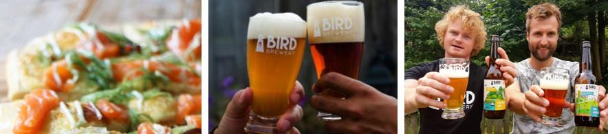 Eten en bieren bij House of Bird