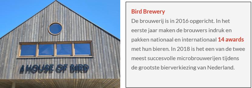 House of Bird gevel